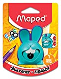 Maped Croc Innovation 1 Hole Pencil Sharpener, Assorted Colors (017649)