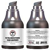 Hydroquinone Skin Lightener & Dark Spot Corrector | SkinPro Medical Grade Skin Care | Fades Uneven Skin Tone and Spots | Skin Lightening Cream for Face and Body
