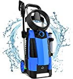 TEANDE 3800PSI Electric Pressure Washer, 3800PSI High Pressure Washer for Cars Fences Patios Garden...