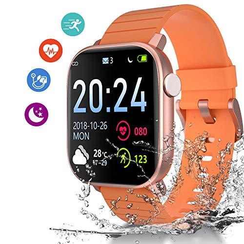 Smartwatch Orologio, 1.4 Pollici full Display Fitness Tracker Uomo Donna Impermeabile IP68 Smart...