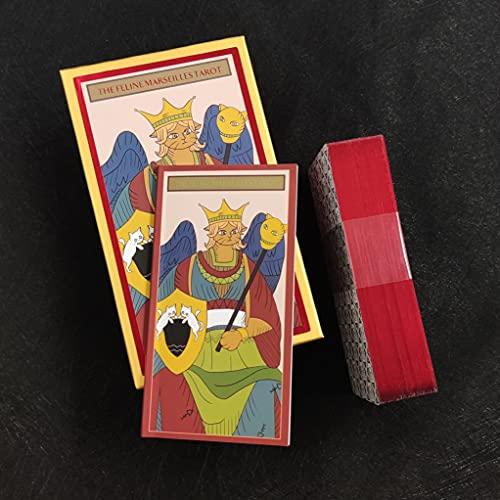 Tarot Cards Decks and Book Sets for Beginners, Marseille Cat...