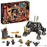 LEGO71719NinjagoCriaturaMinodeZaneJuguetedeConstrucciónparaNiños+8añoscon4MiniFigurasdeNinjas