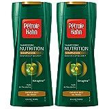 Pétrole Hahn - Shampooing Nutrition - Fortifiant / Usage Fréquent pour Cheveux Secs ou Frisés - 250 ml - Lot de 2