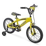 Huffy 16' MotoX Boys Bike, Yellow