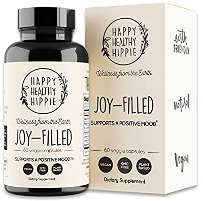 100 PERCENT PLANT-BASED: Completely plant-based anxiety supplement and depression supplements that provides total mood support. Your brain and body may need a little extra nutritional support to help with anxiety, depression, and stress. We at Happy ...