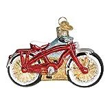 Old World Christmas 2020 Christmas Ornament Cruiser Bike Glass Blown Ornament for Christmas Tree