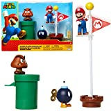 Jakks 85987 Pacific Super Mario Figurine Multicolore 6 cm