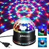 Boule Disco, SOLMORE Boule a Facette 12W 51 LEDs 12.5x12.5x13CM Lampe de...