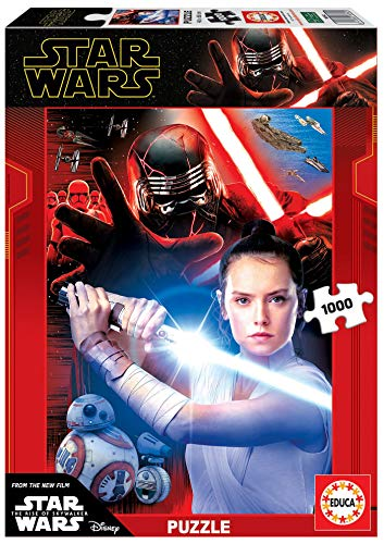 Educa Borras - Serie Star Wars, Puzzle 1.000 piezas Star Wars The rise of Skywalker (18362)