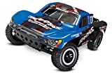 Traxxas Slash 1/10-Scale 2WD Short Course Racing Truck with TQ 2.4GHz Radio and OBA, Blue