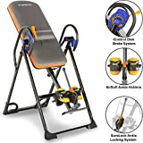 Exerpeutic 975SL All Inclusive Heavy Duty 350 lbs Capacity Inversion Table with Air Soft Ankle Cushions, Surelock and iControl Systems (Sports)