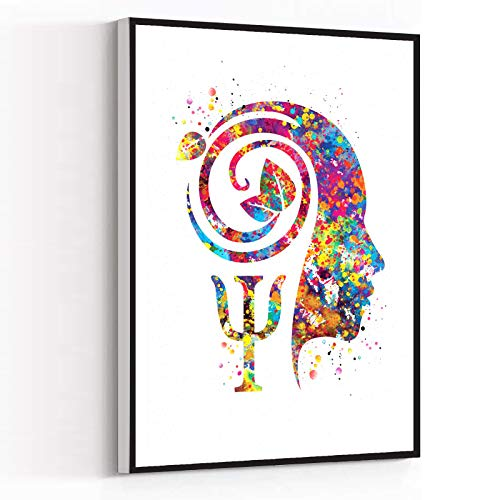 INSPIRATIONAL GIFTS ,Psychiatrist Watercolor Print...