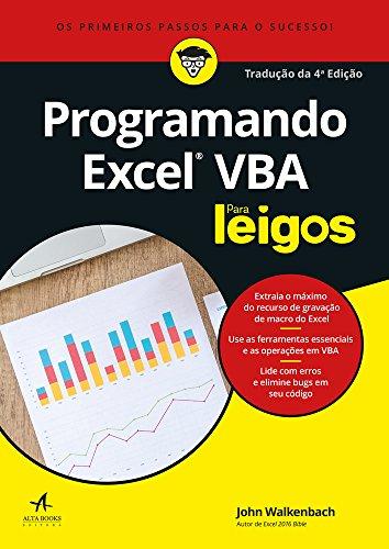 Programming Excel VBA For Dummies