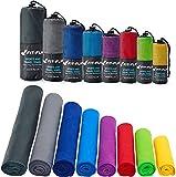 Serviette en microfibre – disponible dans toutes les couleurs et en 8 tailles – compacte &...