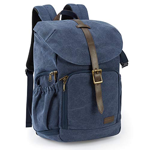 Camera Backpack, BAGSMAR DSLR Camera Bag Backpack, Anti-Theft and...