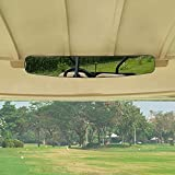 moveland 5 Panel Golf Cart Mirror, Golf Cart Rear View Mirror to...