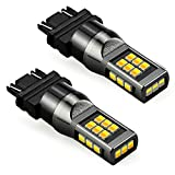 JDM ASTAR Super Bright 2835 Chips White/Amber 3157 3155 3457 4157 Switchback LED Bulbs For Turn Signal Lights