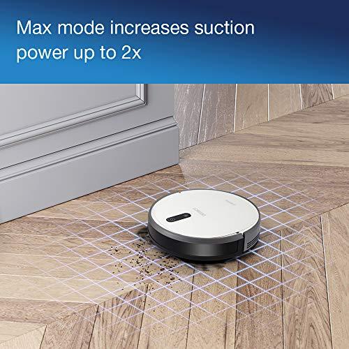 51ZF3fmdO5L [Bon Plan Ecovacs] ECOVACS DEEBOT 710 – Aspirateur robot avec technologie de cartographie – Pour sols durs et tapis – Aspirateur sans fil programmable via smartphone et compatible avec Amazon Alexa