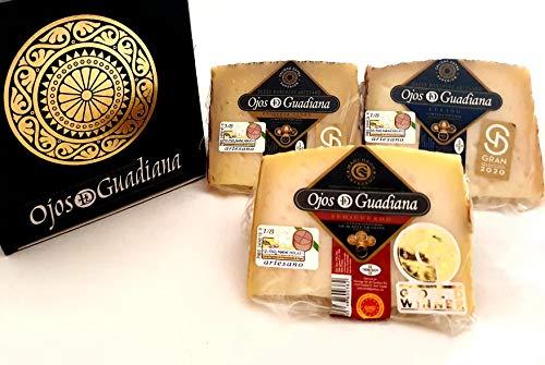 Pack de cuñas Queso D.O. Manchego Ojos del Guadiana - SEMIC