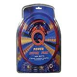 Qpower 4GAMPKIT-SFLEX Super Flex 4 Gauge 3000 Watt Amplifier Wiring Amp Kit
