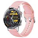 [Updated] feifuns Smart Watch for Android iOS Phone(Music/Storage Playback, Receive/Make Call) Health Fitness Tracker Heart Rate Blood Pressure Sleep Tracker IP67 Waterproof SmartWatch for Women
