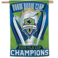 """28"""" x 40"""" in Size with Top Pole Sleeve for hanging from your Flagpole Made of 1-Ply 100% Polyester, Double Stitched Perimeter Sewing, Made in the USA Screen Printed Team Logos are Viewable from Both Sides (Opposite Side is a Reverse Image) Fly this O..."""