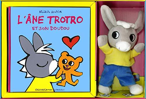 L'âne Trotro et son doudou - Coffret - De 2 à 4 ans