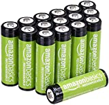 AmazonBasics AA Rechargeable Batteries (2000 mAh), Pre-charged - Pack of 16