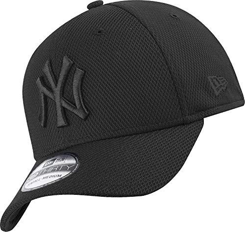 New Era York Yankees 39thirty Flexfit cap Stretch Diamond Black - S-M