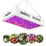 1200W LED Horticole Lampe, Lampe de Croissance des Plantes à Spectre Complet à 120 LEDs avec Infrarouge UV, Idéale pour Plantes D'intérieur, Fleurs et Légumes, Semis, Floraison et Résultats