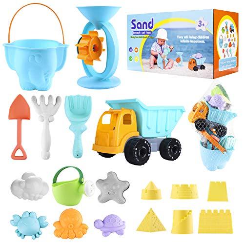 ARANEE Juguetes de Playa para Niños, 20 Piezas Juguetes de