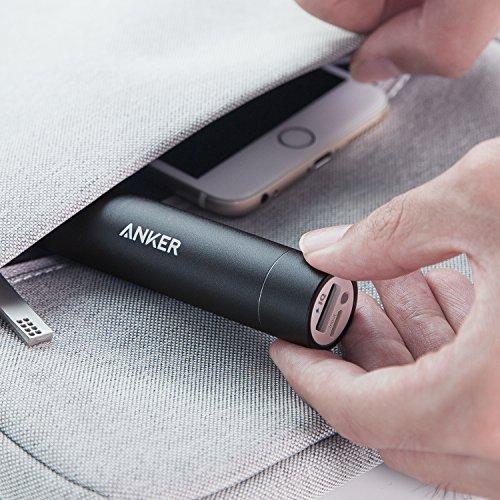 Product Image 1: Anker Batteria Portatile USB PowerCore Mini 3350 mAh – Caricabatteria Portatile di Piccole Dimensioni da 3350 mAh – Batteria Esterna Power Bank Tascabile per Huawei, Samsung, iPhone, ASUS, LG e Altri