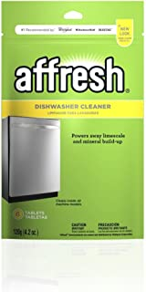 Whirlpool W10282479 Dishwasher Cleaner | Formulated to Clean Inside All Machine Models, 6 Tablets