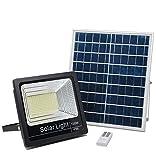 Projecteur LED Solaire 100W, Lampe Solaire Extérieur 4000K, Spot Solaire...
