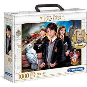 Clementoni Estuche de Rompecabezas Harry Potter de 1000 Piezas