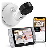 Kodak C520 WiFi Video Baby Monitor with Above-The-Crib View, Parent Unit for Constant Monitoring and Phone App for Quick Check-ins