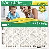 NaturalAire Standard Air Filter, MERV 8, 24 x 24, 1-inch, 12-Pack