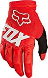 Fox Racing Mens Dirtpaw Glove, Red, Small
