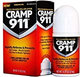 Cramp 911 Muscle Relaxing Pain Relief Topical Lotion for Leg Cramps, Foot Cramps, Back and Neck Spasms, Roll-On Lotion 0.71 oz 21 ml