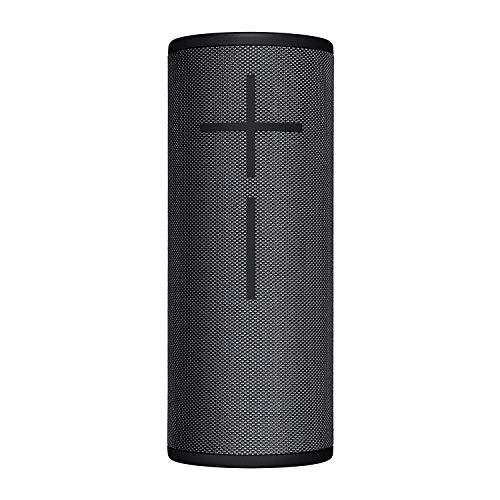 Ultimate Ears Boom 3 Altavoz portátil, Bluetooth, Magic Button, Sonido de 360 grados, Protección IP67, Negro, 18.4 x 7.3 x 7.3 cm