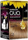 Garnierlia, colorante para el cabello, contiene un 60% de aceite de flores para una coloración ...