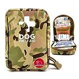 Kit de premiers secours pour animaux domestiques - pour la maison et les voyages - avec 72 articles...