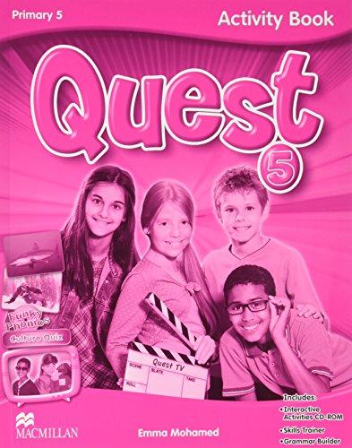 Quest Primary 5 (Activity Book, Grammar Builder, CD-ROM - Interactive Activities) (Tiger) - 97802304