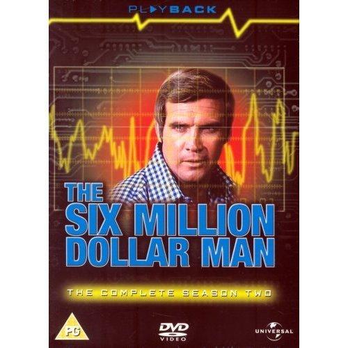 L'uomo da sei milioni di dollari / The Six Million Dollar Man (Season 2) - 6-DVD Box Set ( The Six Million Dollar Man - Season Two ) [ Origine UK, Nessuna Lingua Italiana ]