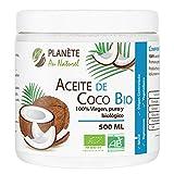 Aceite de Coco Virgen Orgánico - PRENSADO EN FRIO - 500ml