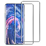Sunnyw Case for Lg K40, LG Solo LTE,LG Xpression Plus 2,LG Harmony 3,LG K12 Plus,LG X4 2019 Case with [Full Tempered Glass Screen Protector], Flexible Shock Absorption Scratch Resistant Case (Black)