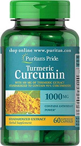 Puritans Pride Turmeric Curcumin 1,000mg 60 Capsules