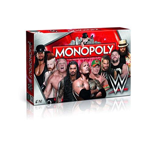 Monopoly World Wrestling Entertainment - Betritt den Ring, würfle und hole dir die Superstars der WWE (Deutsch)