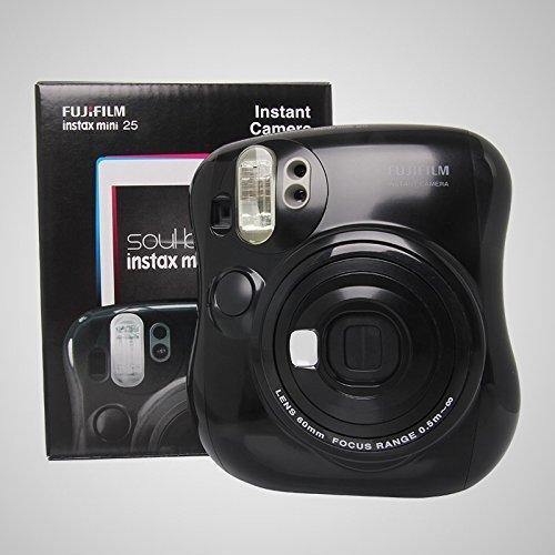 Fujifilm Instax MINI 25 Instant Film Camera, Black