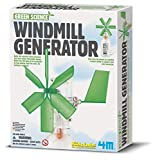 The windmill generator uses green science to harness wind power and light an LED bulb. This kit contains all the materials needed to build a 5-inch windmill generator with LED light. Just add a recycled soda bottle. An enclosed pamphlet contains fun ...